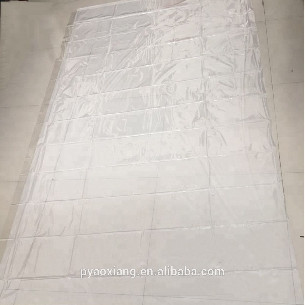 High Quality PVC Plastic Transparent Table Cloth For Home Table Cover