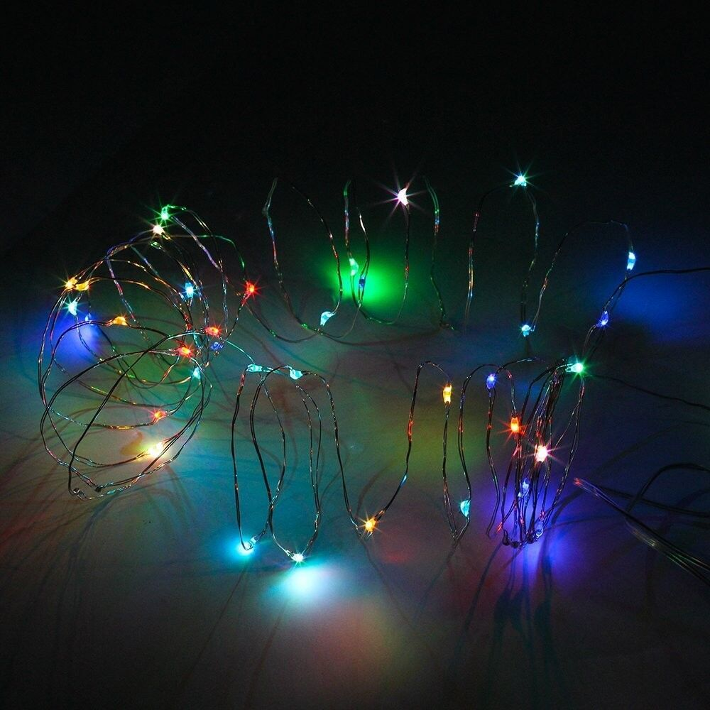 Fairy Lights Battery Operated Rice 30 Steady Led Table Centerpieces Wedding Decorations Le