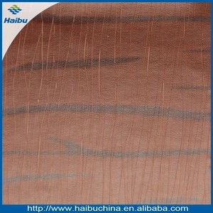 High peeling strength textured pu leather material