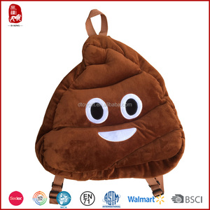 hot sale emoji poop backpack