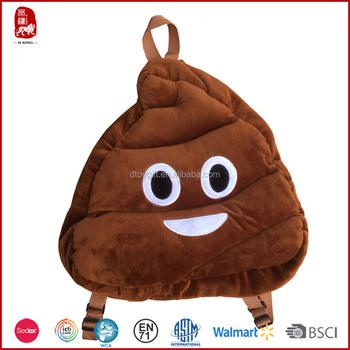 Hot Sale Emoji Poop Backpack