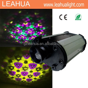 led gobo lights 60w white led flower night club stage effect disco lights