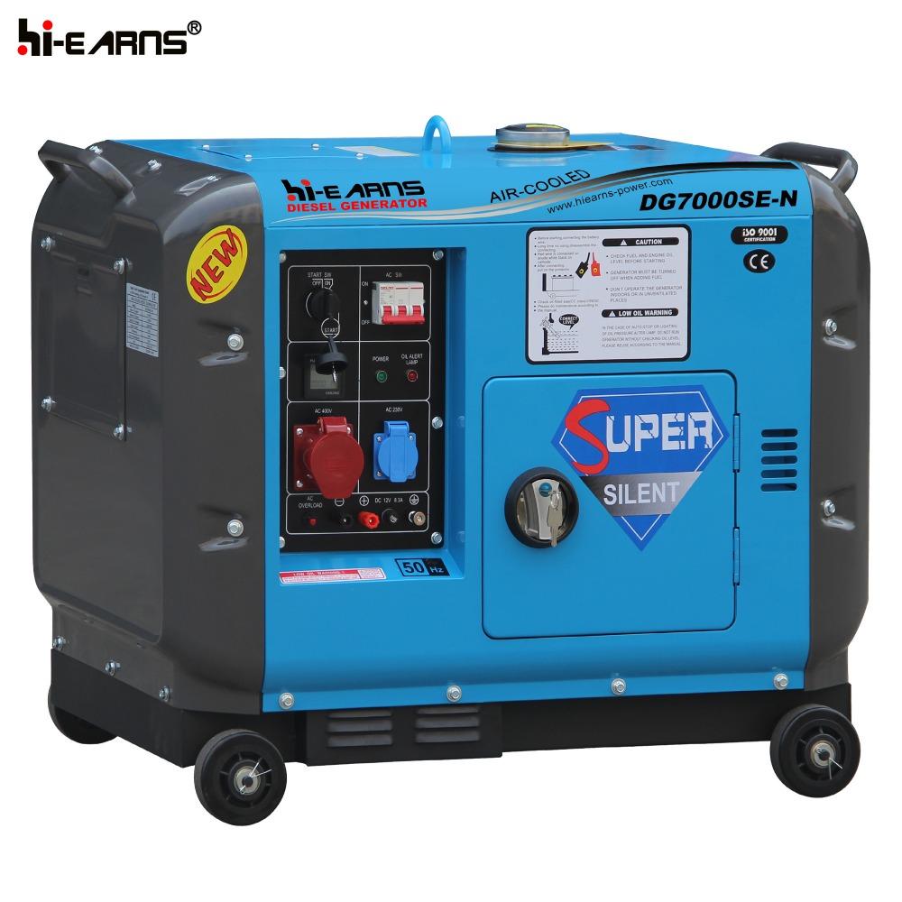 5kva portable silent diesel generator price