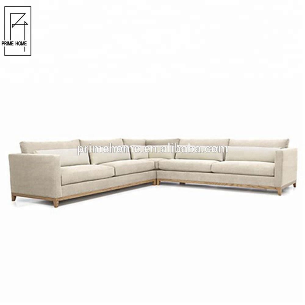 Custom made stylish simple design drawing room furniture design sectional sofa set