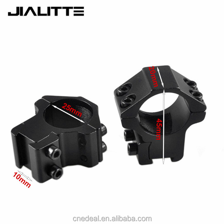 Jialitte Low Rifle Scope Mounts Double Screw Strap 11mm Base Air Rifle Hunting Caza Base Install Scope Pistol J093