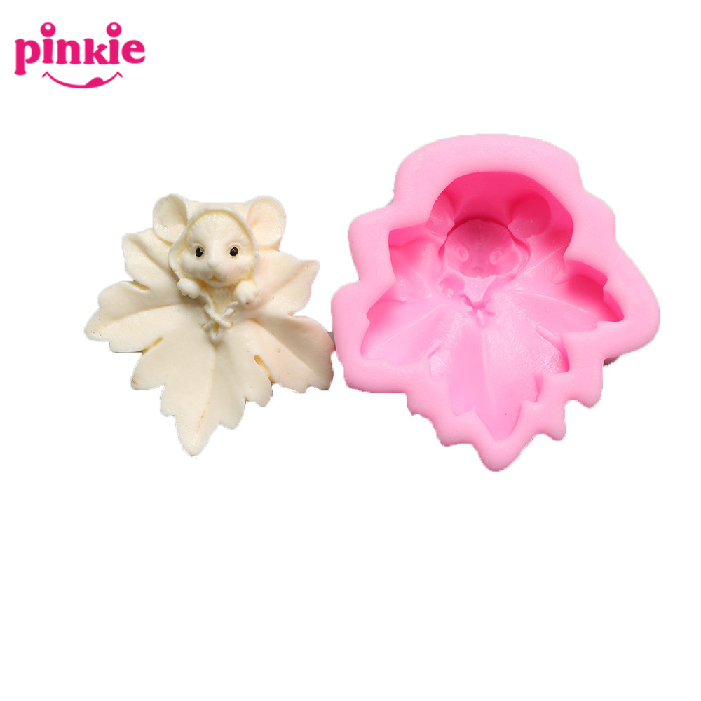 Z816 Lovely Animal Design Mouse Shape 3D silicon soap <strong>mold</strong> factory direct
