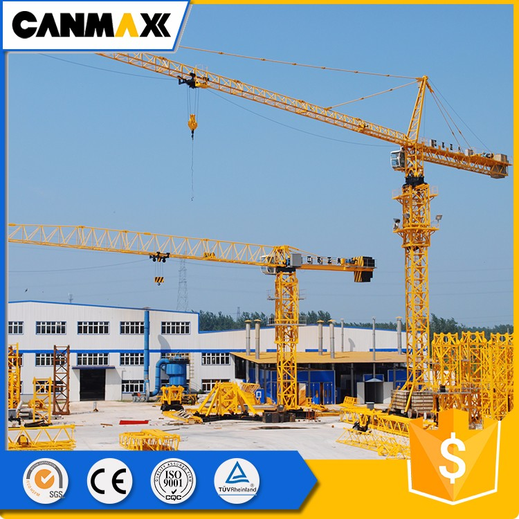 Self-Erecting TC5613 High performance Tower Crane Spare Parts