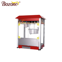 Multi color CE Approved Industrial Gas Snack Equipment Automatic Sweet Cheap Price Commercial Caramel Popcorn Making Machine