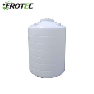 Hot sell PE 100 to 40000 liter vertical plastic water tank price for water treatment