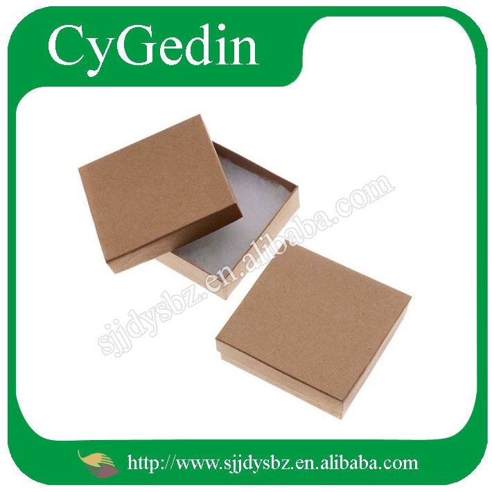 Wholesale kraft boxes for jewelry/food /gift packaging customized