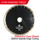 350mm 15mm height diamond saw blade granite cutting tools for stone edge cutting
