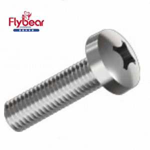 A2 A4 DIN7985 Cross recessed pozi pan head machine screws Anti-theft all sizes gavalnized GB818 screws