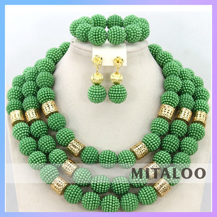 Mitaloo African Traditional Woman Jewelry Elegant Nigerian Wedding ...