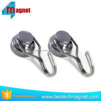 Heavy Duty Swivel Hook Set - Ultra Strong - Powerful Neodymium Rare Earth Magnet - Best for Grill Tools