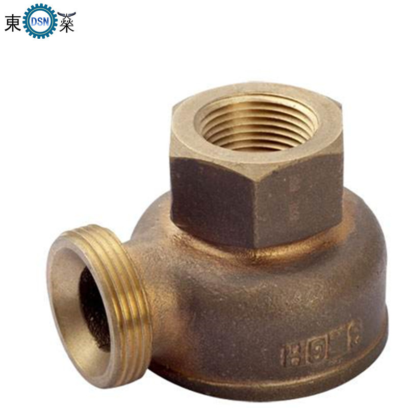 Silica Sol Investment Precision Casting Customized Copper Casting Parts