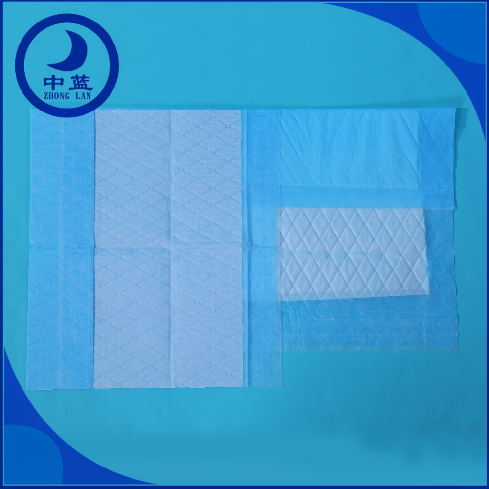 High absorbent incontinence bed pad disposable underpad