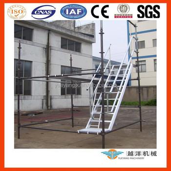 Aluminium Scaffold Stairs With Platform