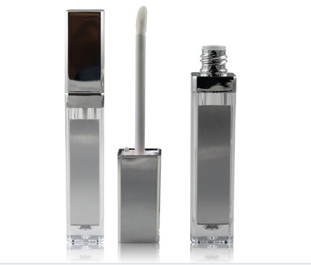 50pcs Silver 5 G Empty Lip Gloss Containers With Led Light