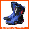 Waterproof Leather Speed Bikers Motocross Racing Boot Motorbike Moto Protective Boots B1001