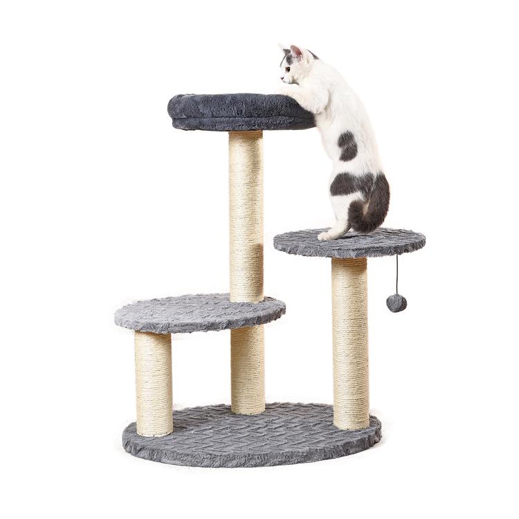 Bán buôn Vật Liệu Mới Phong Cách Vật Nuôi Phụ Kiện Mèo Gãi Cây