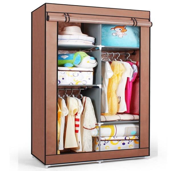s7 de haute qualit et pas cher portable chambre placard garde robe armoires armoire moderne. Black Bedroom Furniture Sets. Home Design Ideas