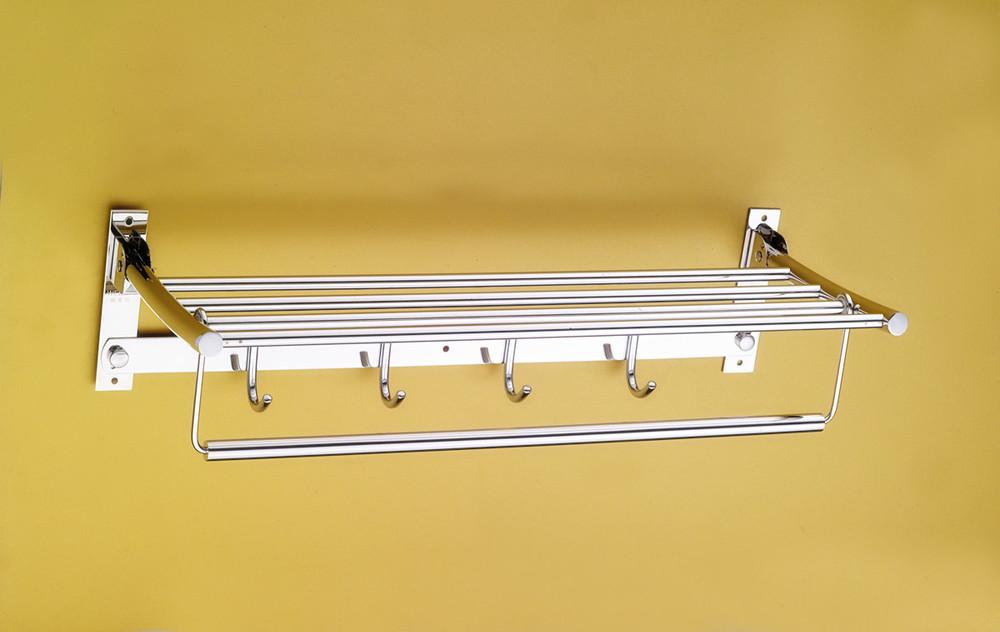 Wesda Bathroom Accessories Design Steel Hotel Towel Rack & Shelf ...