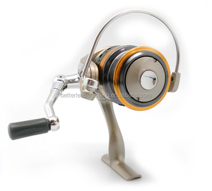 Topline Tackle Hot Sale High Quality AZUMI Machine Cut Aluminium Spool Fishing Reel Used For Saltwater