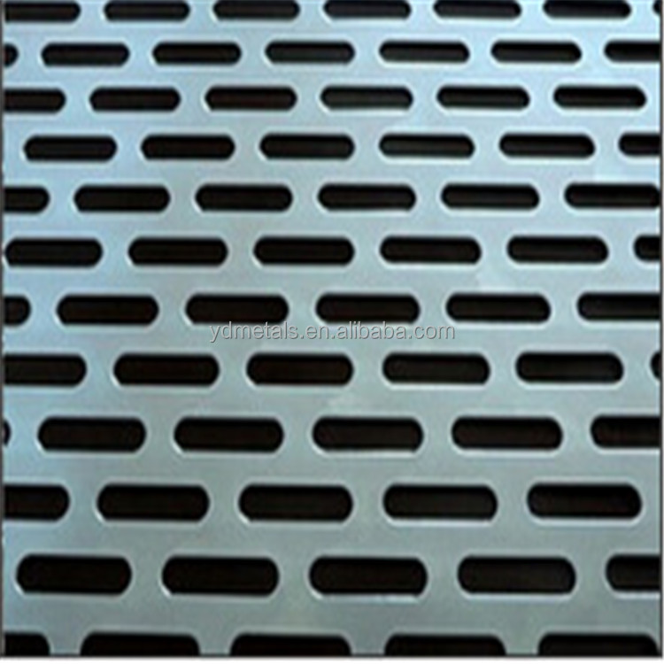 Slotted Perforated Metal Wire Mesh Plate - Buy Slotted Perforated ...
