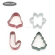 Different shapes stainless steel cookie cutter