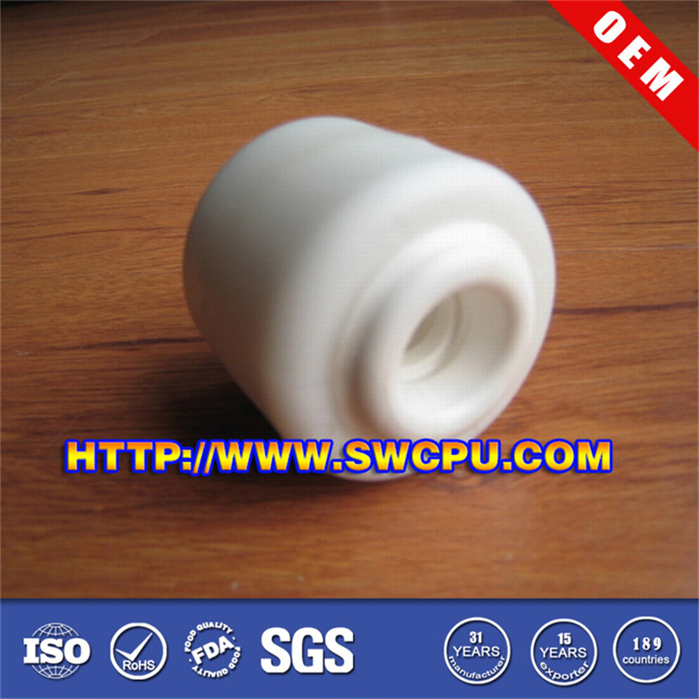 Small white Plastic Conveyor Roller Guard Rails