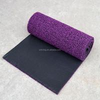 3D anti slip car floor mat pvc coil mat with spike backing for car