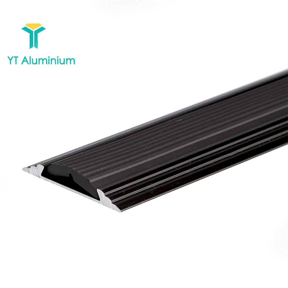 Anti Slip Stair Treads Aluminium Staircase For Floor Cover Trim