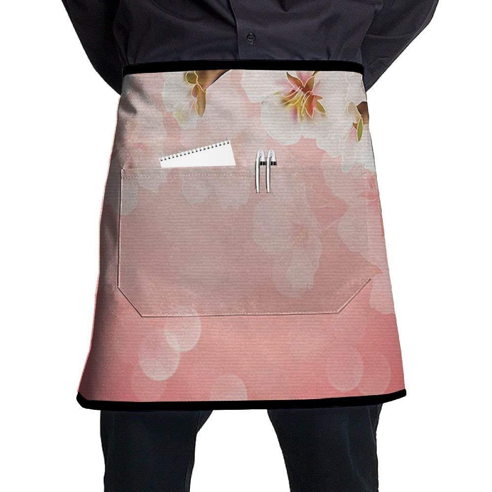 INTERESTPRINT Mens Boxer Briefs Underwear Pink Flowers Blooming Branches of Cherry XS-3XL