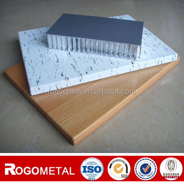Aluminum foil thickness 0.04-1.2mm PP Honeycomb Reinforced FRP Fiberglass Composite Panel with A3003/A5052