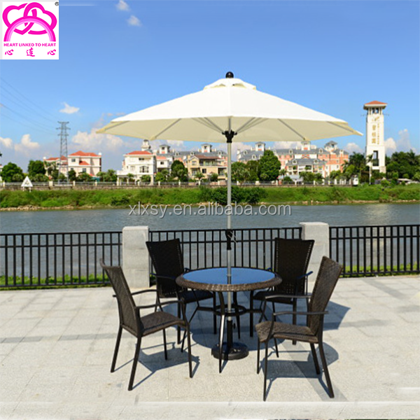 High Quality Polyester Double Cloth Outdoor Garden Restaurant Umbrella , Parasol umbrella, Beach Parasol For Sale