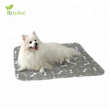 Private Label Polyester Dog Pee Pads for Dogs Washable and Reusable Pet Pee Pad Pet Training and Puppy Pads Pet Training Pads