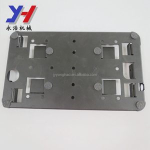 OEM ODM factory manufacture SGS ISO ROHS rectangle shape raw material certificates steel ipad wall bracket as your drawing