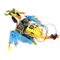 Designed in Korea High Quality ABS Material Self Assemble Toys (DIY) Educational Robot Kit EQ Robot Full Package