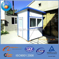 Steel panelized Prefab Security Guard Houses / Cabins