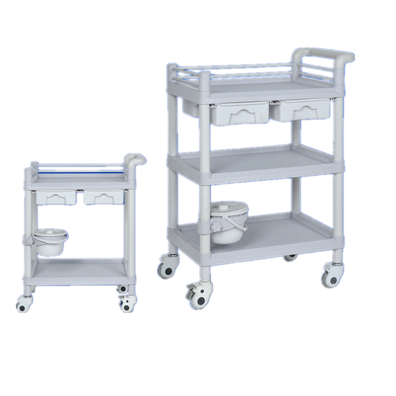 Hospital crash cart Surgical treatment of thick-thickened medical trolley instrument