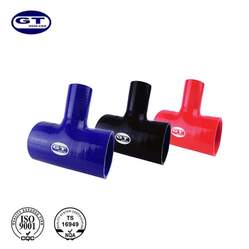 ID=38-25 mm/universal after market Tee silicone hose