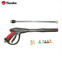 Alibaba Hot Sale New High Quality 4000psi Pressure Washer Q/R Wash Gun Lance Extension With Turbo Spray Nozzles