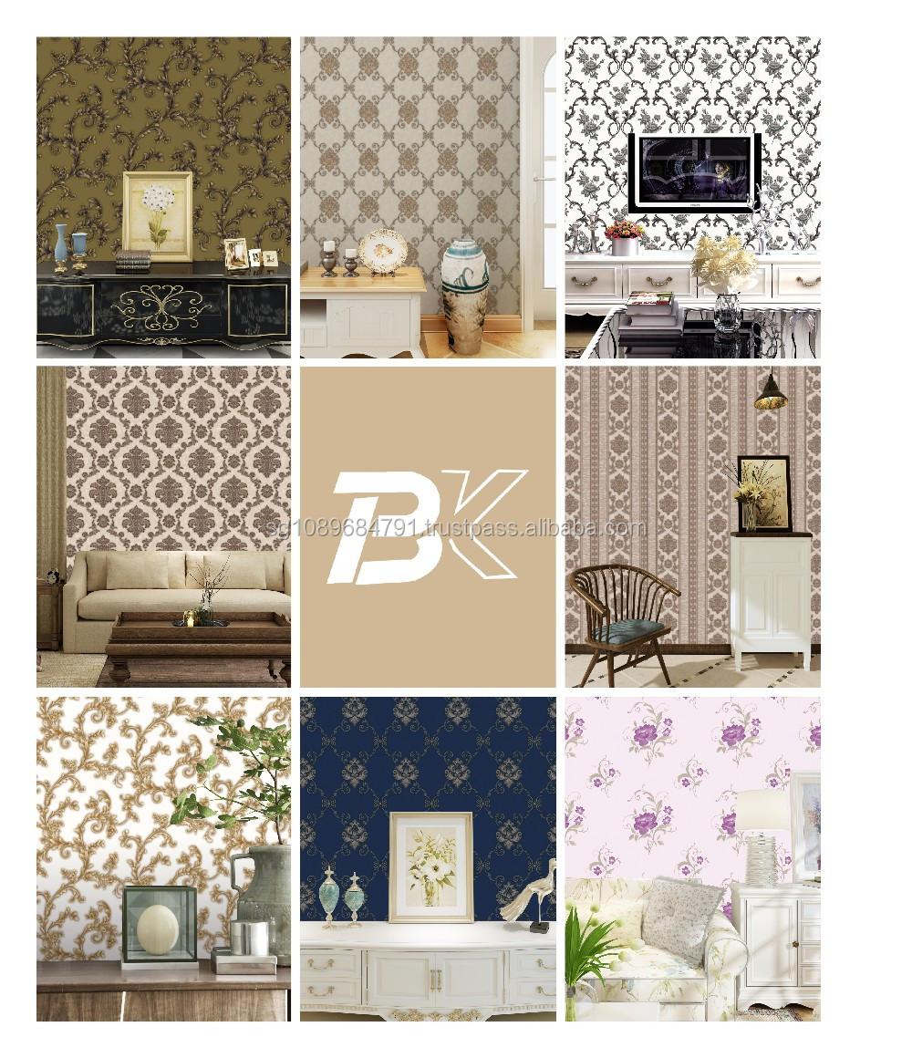 2017 new stereoscopic wallpaper korean wallpaper wallpaper for Wallpaper home value