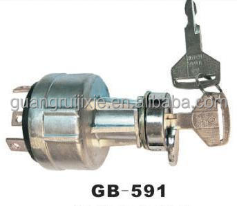 Gb-591 Factory Supply Good Price Excavator Ignition Switch For ...