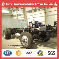 4x2 9m Dongfeng Bus Chassis Manufacturers/bus Frame Chassis - Buy ...