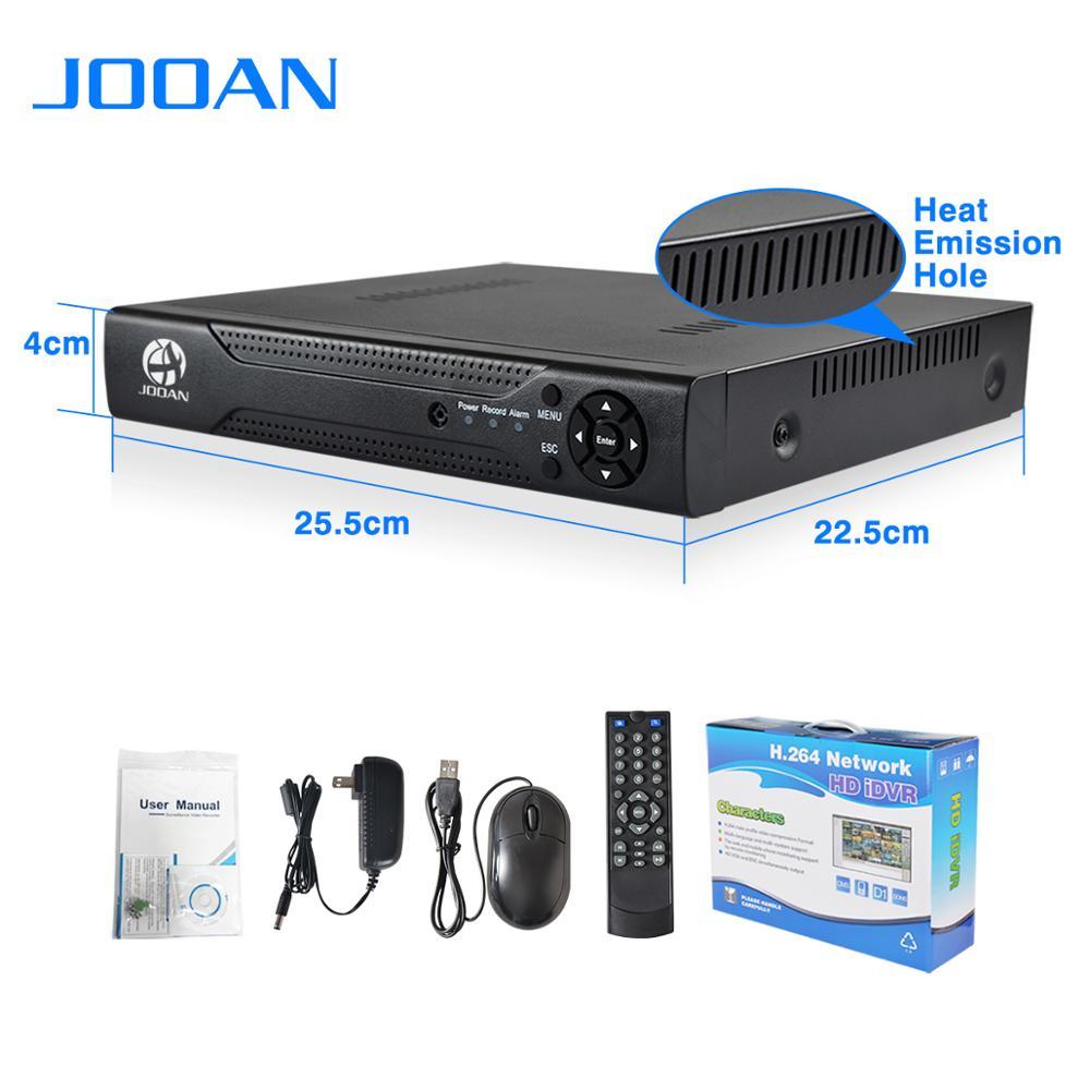 Jooan Hot selling JA-4204T high technology AHD DVR 1080N 4CH H.264 Cloud