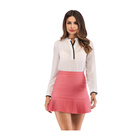 newest very very short mini skirts fashionable ruffle micro skirt