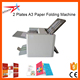 Low Cost 2 Plates A3 Paper Folding Machine