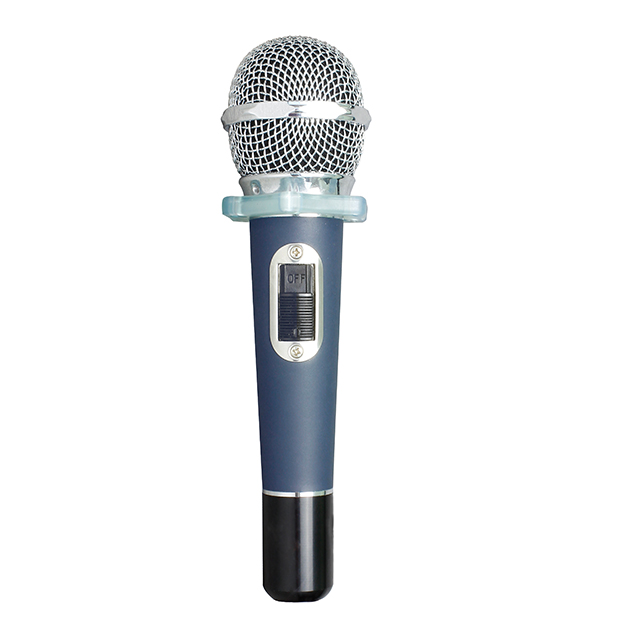 Aluminum alloy professional hight range dynamic wired microphone for recording and singing