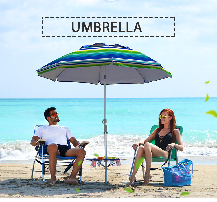 Wholesale Popular promotions cheap advertising outdoor garden beach umbrellas With Customized Logo